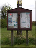 TM3687 : Ilketshall St.John Village Notice Board by Adrian Cable