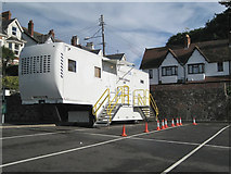 SX9473 : Breast Screening Unit, Dawlish Road car park, Teignmouth by Robin Stott