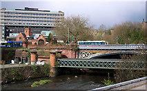 NS5666 : Dumbarton Road Bridge, Glasgow by Rossographer