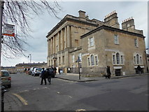 ST7465 : Upper Church Street at Royal Crescent by Ian S