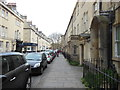 ST7465 : The Cotswold Way at Brock Street, Bath by Ian S
