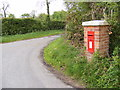 TM3588 : New Road & The Castle Postbox by Adrian Cable