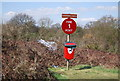 TQ5273 : Fire Post 1, Dartford Heath by N Chadwick