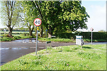 SU5751 : Crossing the B3400 (Andover Road) by Given Up
