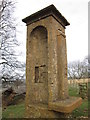 SP0629 : The Cotswold Way at Beckbury Monument by Ian S
