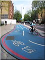 TQ3179 : Barclays Cycle Superhighway CS7 by Patrick Mackie
