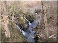 NY3203 : Lower Falls of Colwith Force by Les Hull