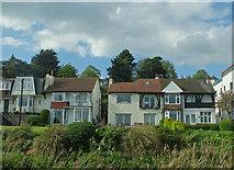 TQ8485 : Houses on Undercliff Gardens by John Allan