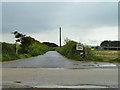 SW5940 : Lane to Trevarnon Farm by Robin Webster