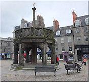 NJ9406 : Mercat Cross, the Castlegate, Aberdeen by Bill Harrison