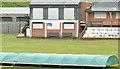 J2664 : Wet cricket pitch, Lisburn (2013) by Albert Bridge