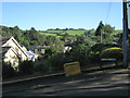 SX9272 : View to Butterfly Lane from the west end of Laurel Lane, Ringmore by Robin Stott