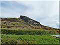 SW4839 : Rock outcrop above B3306 by Robin Webster