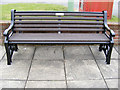 TM3989 : Seat at the Memorial by Adrian Cable