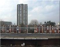TQ2775 : Tower block, Battersea by N Chadwick