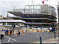 SP0686 : New Street Station Construction From Hill Street by Roy Hughes