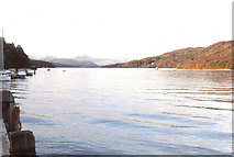 SD3787 : View up Windermere from Lakeside by Christopher Hilton