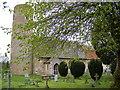 TM3989 : Holy Trinity Church, Barsham by Adrian Cable