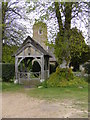 TM3989 : Lych Gate of Holy Trinity Church, Barsham by Adrian Cable