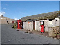 HP6208 : Baltasound Post Office by Oliver Dixon
