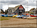 TR1066 : Whitstable Lifeboat Station by David Dixon