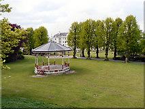TR1457 : Dane John Gardens, Canterbury by David Dixon