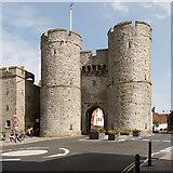 TR1458 : Canterbury, West Gate by David Dixon