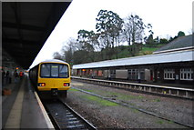 SX9193 : Train at Exeter Central Station by N Chadwick