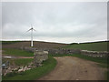 SD3575 : New wind turbine near Strand Bridge by Karl and Ali