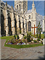 TR1557 : Canterbury Cathedral, The Easter Garden by David Dixon