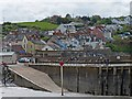 ST0743 : The slipway at Watchet Harbour by Robin Drayton