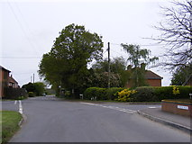 TM4087 : Church Road, Ringsfield Corner by Adrian Cable