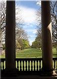 NZ1758 : Through the columns ... by Graham Hogg