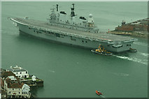 SZ6299 : Farewell to HMS Ark Royal (8) by Peter Trimming