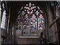 TA0339 : St Mary's church, Beverley: window in side chapel by Stephen Craven