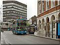 TQ7655 : Maidstone, Middle Row by David Dixon