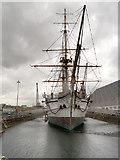 TQ7569 : Chatham Dockyard, HMS Gannet by David Dixon