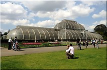 TQ1876 : Palm House, Kew Gardens by Claire MacNeill