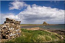 NU1341 : Lindisfarne Castle by Mike Searle