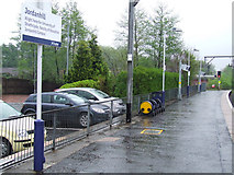 NS5467 : Jordanhill railway station by Thomas Nugent