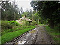 NU0538 : Shed at Bogle Houses by Graham Robson