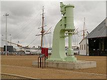 TQ7569 : Cochrane Steam Hammer, Chatham Dockyard by David Dixon