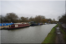 TL3706 : Moorings, Lea Navigation by N Chadwick