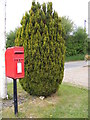 TG1422 : Ratcatchers Public House Postbox by Adrian Cable