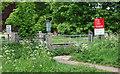 SK6544 : Burton Joyce NG14, Notts. by David Hallam-Jones