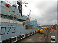 TQ7569 : Dry Dock No 2, HMS Cavalier by David Dixon