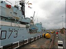 TQ7569 : Dry Dock No 2, HMS Cavalier by David Dixon