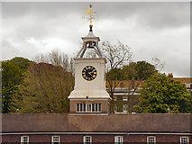 TQ7569 : Chatham Royal Docks, Clocktower Building by David Dixon