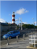 SX4753 : Smeaton's Tower, Plymouth Hoe by Eirian Evans