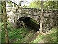SX7684 : Bridge over dismantled railway at Wray Barton by David Gearing
